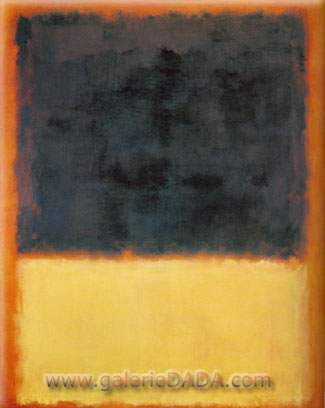 Mark Rothko, Number 203 Fine Art Reproduction Oil Painting