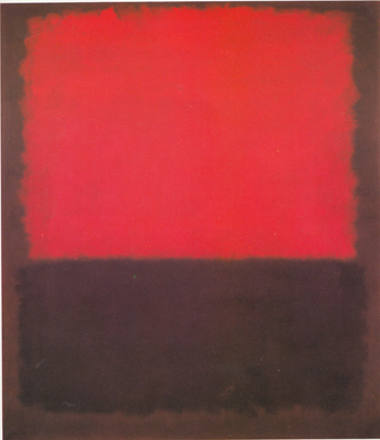 Mark Rothko, Number 207 Fine Art Reproduction Oil Painting