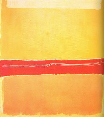 Mark Rothko, Number 22 Fine Art Reproduction Oil Painting
