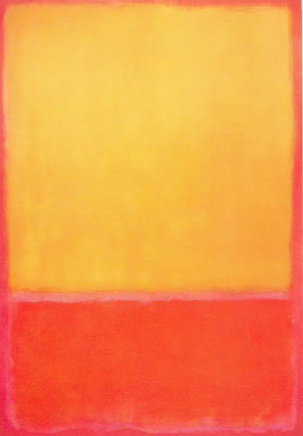 Mark Rothko, Ochre and Red on Red Fine Art Reproduction Oil Painting