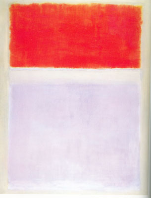 Mark Rothko, Orange and Lilac over Ivory Fine Art Reproduction Oil Painting