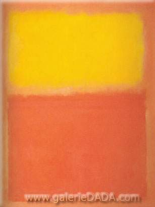 Mark Rothko, Orange and Yellow Fine Art Reproduction Oil Painting