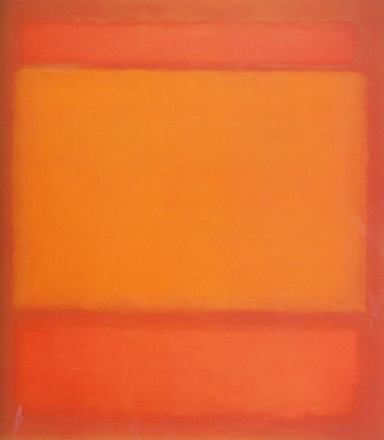 Mark Rothko, Red, Orange, Orange on Red Fine Art Reproduction Oil Painting