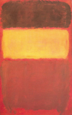 Mark Rothko, Untitled (Number 7) Fine Art Reproduction Oil Painting