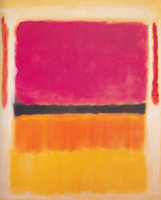 Mark Rothko, Violet, Black, Orange, Yellow on White and Red Fine Art Reproduction Oil Painting