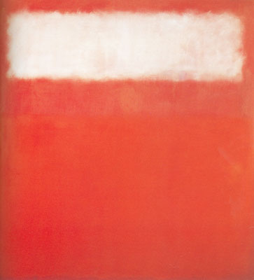 Mark Rothko, White Cloud Fine Art Reproduction Oil Painting