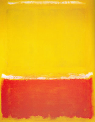 Mark Rothko, White, Yellow, Red on Yellow Fine Art Reproduction Oil Painting