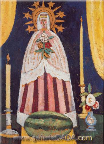 Marsden Hartley, Blessing the Melon Fine Art Reproduction Oil Painting