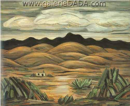 Marsden Hartley, Desert Scene Fine Art Reproduction Oil Painting