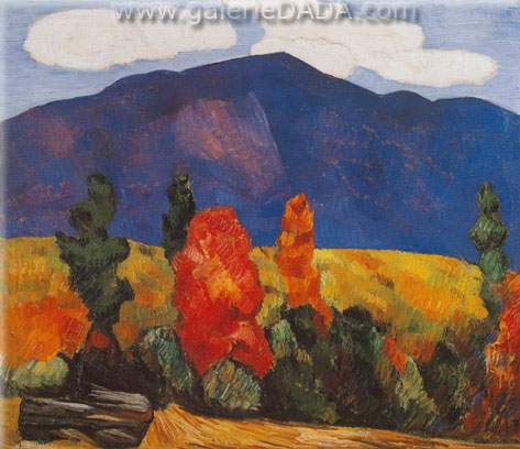 Marsden Hartley, Franconia Notch Fine Art Reproduction Oil Painting