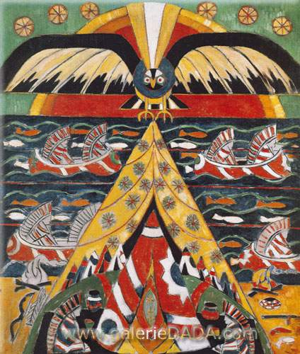 Marsden Hartley, Indian Fantasy Fine Art Reproduction Oil Painting