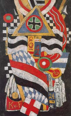 Marsden Hartley, Portrait of a German Officer Fine Art Reproduction Oil Painting