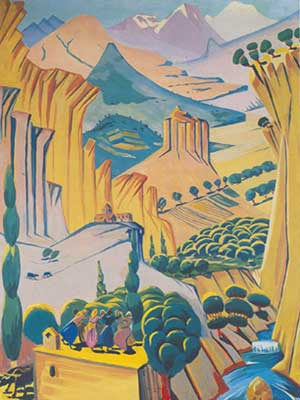 Martiros Saryan, Armenia Fine Art Reproduction Oil Painting