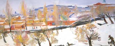 Martiros Saryan, Southern Winter Fine Art Reproduction Oil Painting
