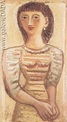 Massimo Campigli, Figure Fine Art Reproduction Oil Painting