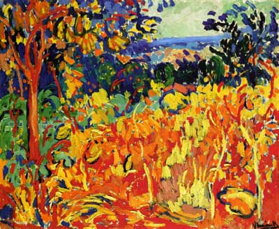 Maurice de Vlaminck, The Orchard Fine Art Reproduction Oil Painting