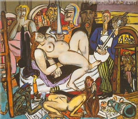 Max Beckmann, The Town Fine Art Reproduction Oil Painting