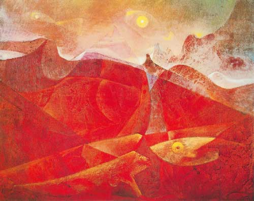 Max Ernst, Colorado of Medusa Fine Art Reproduction Oil Painting