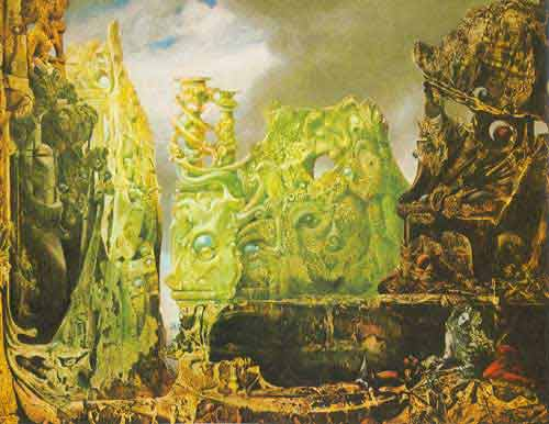 Max Ernst, The Eye of Silence Fine Art Reproduction Oil Painting