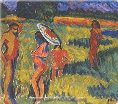 Max Pechstein, Summer Fine Art Reproduction Oil Painting