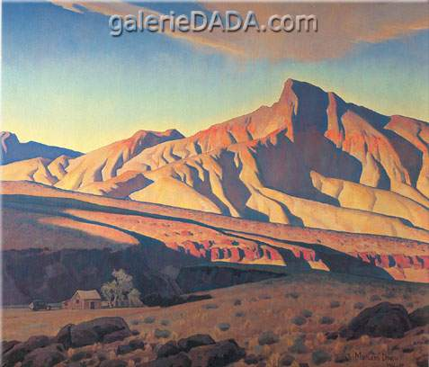 Maynard Dixon, Home of the Desert Rat Fine Art Reproduction Oil Painting