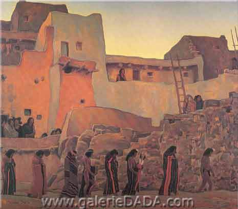 Maynard Dixon, The Wise Men Fine Art Reproduction Oil Painting