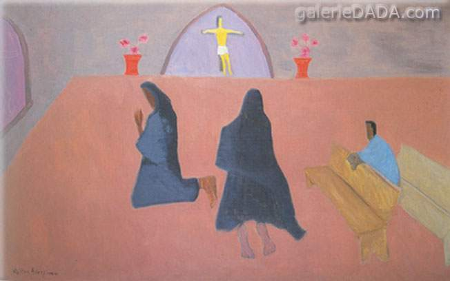 Milton Avery, Prayers Fine Art Reproduction Oil Painting