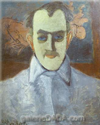 Milton Avery, Self-Portrait Fine Art Reproduction Oil Painting