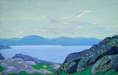 Nicholas Roerich, Birds of the Morning Fine Art Reproduction Oil Painting