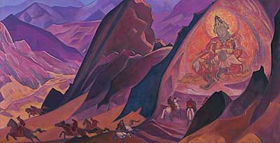 Nicholas Roerich, Command of Rigden Djapo Fine Art Reproduction Oil Painting