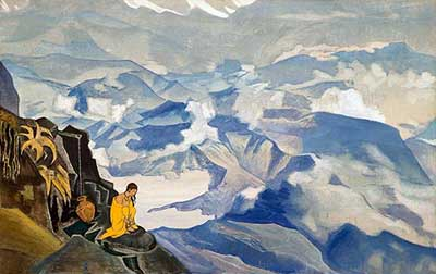 Nicholas Roerich, Drops of Life Fine Art Reproduction Oil Painting
