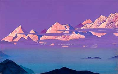 Nicholas Roerich, Himalayas Fine Art Reproduction Oil Painting