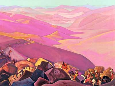 Nicholas Roerich, Mongolia Fine Art Reproduction Oil Painting