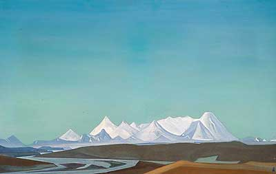 Nicholas Roerich, The Greatest and Holiest of Tangla Fine Art Reproduction Oil Painting