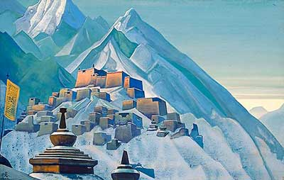 Nicholas Roerich, Tibet. Himalayas Fine Art Reproduction Oil Painting