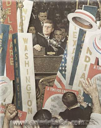 Norman Rockwell, A Time for Greatness Fine Art Reproduction Oil Painting
