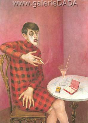 Otto Dix, Sylvia van Harden Fine Art Reproduction Oil Painting