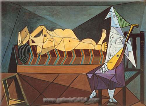 Pablo Picasso, Dawn Serenade Fine Art Reproduction Oil Painting