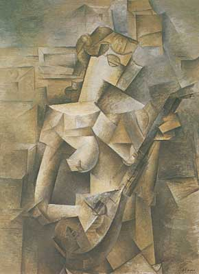 Pablo Picasso, Girl with a Mandolin Fine Art Reproduction Oil Painting