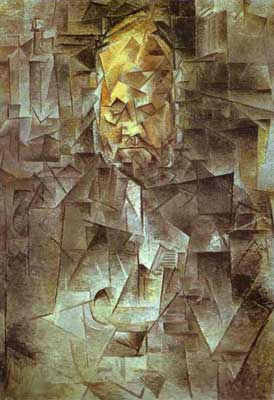 Pablo Picasso, Portrait of Andre Vollard Fine Art Reproduction Oil Painting