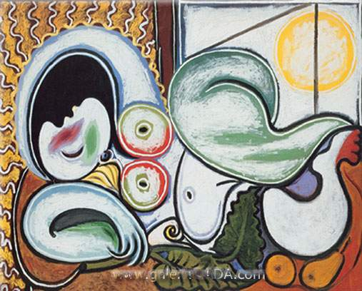 Pablo Picasso, Sleeping Nude Fine Art Reproduction Oil Painting