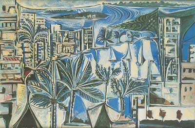Pablo Picasso, The Bay of Cannes Fine Art Reproduction Oil Painting
