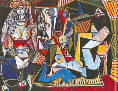 Pablo Picasso, The Women of Algiers after Delacroix Fine Art Reproduction Oil Painting