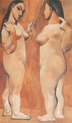 Pablo Picasso, Two Nudes Fine Art Reproduction Oil Painting
