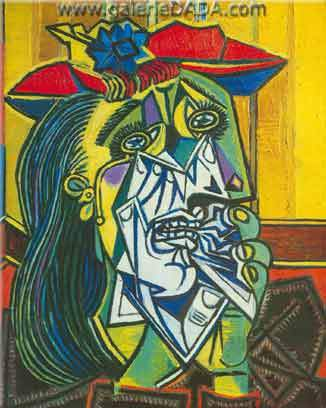 Pablo Picasso, Weeping Woman Fine Art Reproduction Oil Painting