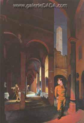Paul Cadmus, Night in Bologna Fine Art Reproduction Oil Painting