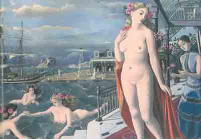 Paul Delvaux, The Birth of Venus Fine Art Reproduction Oil Painting