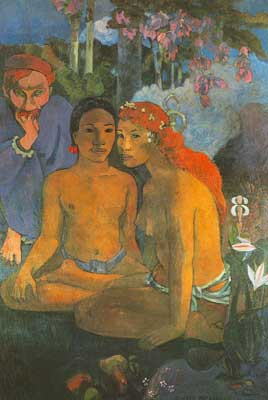 Paul Gauguin, Contes Barbares Fine Art Reproduction Oil Painting