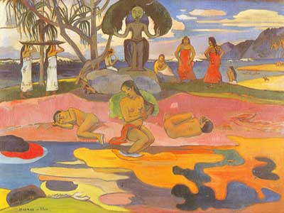 Paul Gauguin, Day of the God Fine Art Reproduction Oil Painting