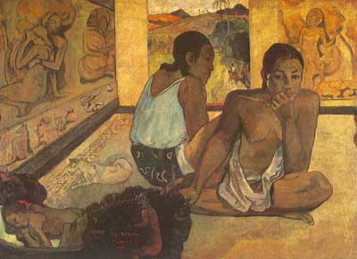 Paul Gauguin, Le Repos Fine Art Reproduction Oil Painting